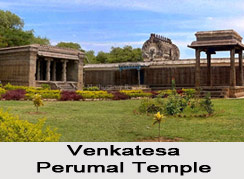 Architecture of Sri Venkatesa Perumal Temple, Tirumukkudal, South India