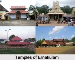 Ernakulam Temples, Kerala, South India