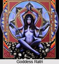 Goddess Ratri, Vedic Deities of India