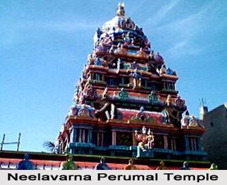 Inscription of Sri Neelavarna Perumal temple, Nanmangalam, Chennai