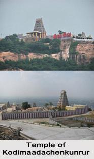 Kodimaadachenkunrur Temple, Tiruchengode near Salem, Erode, Tamil Nadu