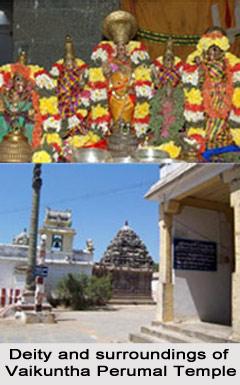Legend of Sri Vaikuntha Perumal Temple, Madhuratnangalam, South India