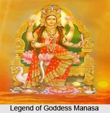 Manasa, Hindu Goddess Of Snakes