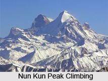 Nun Kun Peaks, Mountain Peak Of India
