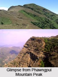 Phawngpui Mountain Peak, Lawngtlai District, Mizoram
