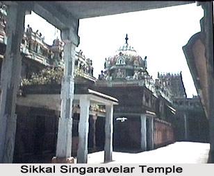 Sikkal Navaneeteswarar Temple, near Nagappattinam, Tiruvarur, Tamil Nadu