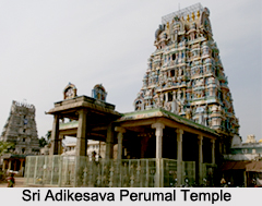 Sri Adikesava Perumal Temple, Kuram, South India