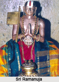 Sri Ramanuja Temple, Sevelimedu, South India