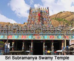 Subramanya Swami Temple, Tirupparankunram near Madurai, Tamil Nadu