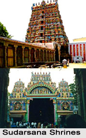 Sudarsana Shrines , Tamil Nadu