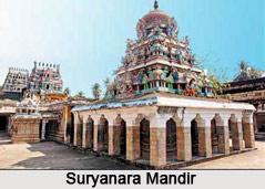 Suryanaar Koyil Temple,  Mayiladuturai  near Thanjavur, Tamilnadu
