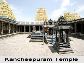 Temples in Kanchipuram, Tamil Nadu, South India