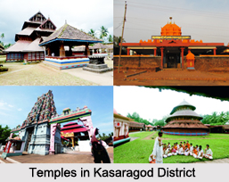 Temples in Kasaragod  District