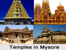 Temples in Mysore, South India