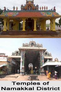 Temples of Namakkal District, Tamil Nadu