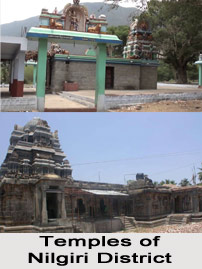 Temples of Nilgiris District, Tamil Nadu