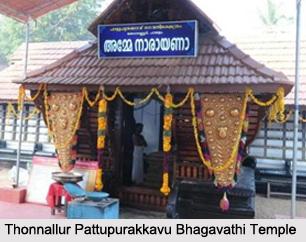 Thonnallur Pattupurakkavu Bhagavathi Temple, Kerala
