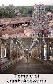 Tiru Aanaikkaa- Jambukeswarar temple, Chola Naadu