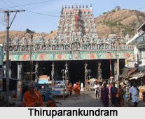 Tirupparankunram Temple, near Madurai, Tamil Nadu