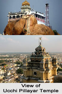 Ucchi Pillayar Temple, Tamil Nadu